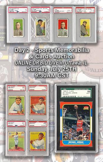 Day 2 Sports Memorabilia & Cards Auction