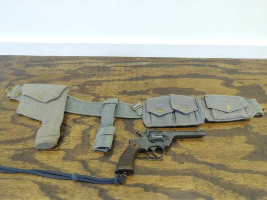 Enfield No 2 Mk1  38 Cal Revolver British Raf Hallmarks With