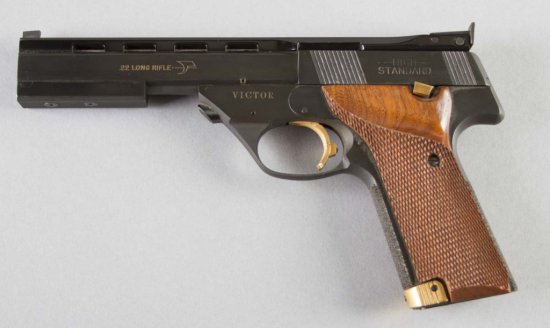 High Standard, Victor Model, 22 LR cal., Pistol