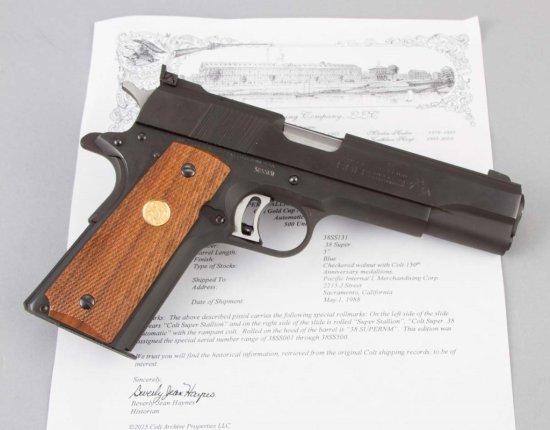 Colt, Super Stallion, Semi-Automatic Pistol