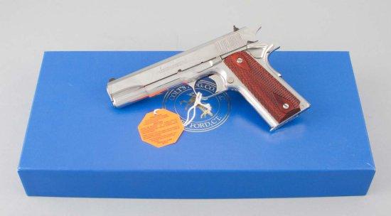 Colt, Custom Government 38, Semi-Automatic Pistol