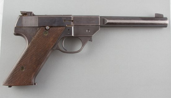 "High Standard, Model GD, Semi-Automatic Pistol, .22 LR Caliber, SN 330235, 6 3/4"" barrel, overall go"