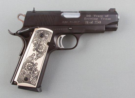 "Charles Daly, Semi-Automatic Pistol, .45 ACP Caliber, SN CD500880, 3 1/2"" barrel, matte finish, fanc"