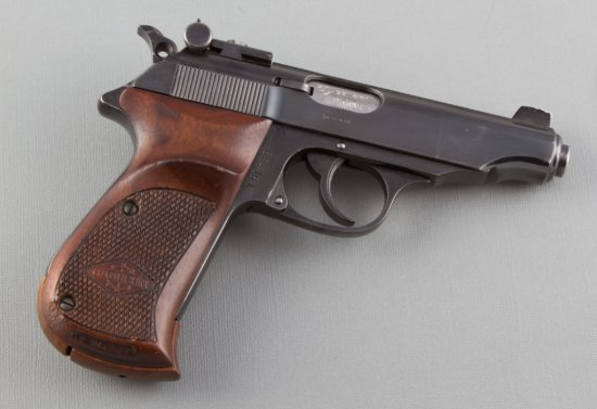 """Walther, Model Sport, Double Action Semi-Automatic Pistol, .22 LR Caliber, SN 62416L, 4"""" barrel, exc"""