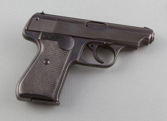 "J.P. Sauer, Model 38H, Semi-Automatic Pistol, 7.65/.32 ACP Caliber, SN 282273, 3 1/2"" barrel, blue f"