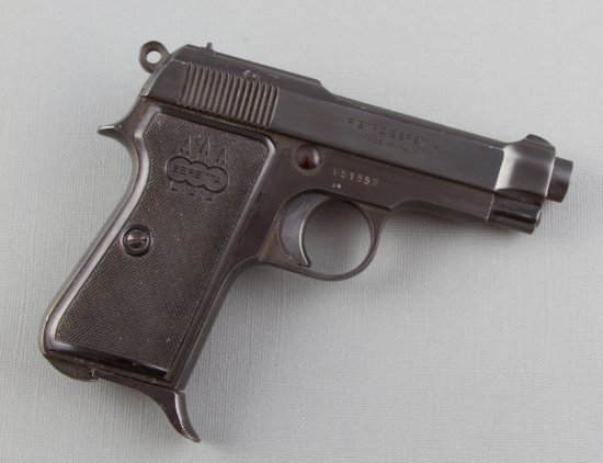 "Beretta, Model 1934, Semi-Automatic Pistol, 9 MM Caliber, SN F51352, 3 1/2"" barrel, blue finish.  NO"