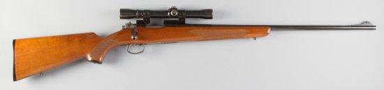 "Sako Riihimaki, Model L46, Bolt Action Rifle, .222 Caliber, SN 25406, 26"" barrel, blue finish, check"