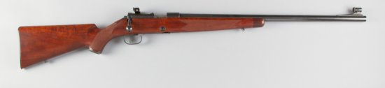 "Winchester, Model 52, Clip Fed Bolt Action Rifle, .22 LR Caliber, SN 24883, 24"" barrel, blue finish,"