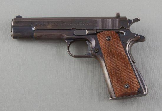"""Colt, Pre-War ACE, Semi-Automatic Pistol, .22 LR Caliber, SN 4889, 5"""" barrel, blue finish with light"""