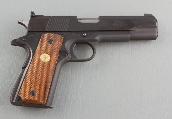 "Colt, Service Model Ace, Semi-Automatic Pistol, .22 LR Caliber, SN SM35105, 5"" barrel, blue finish,"