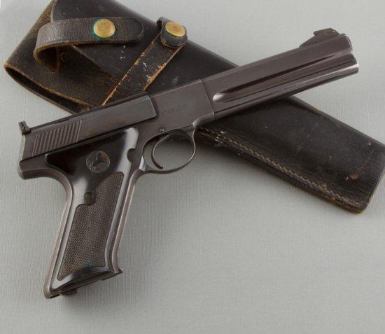 "Colt, Matched Target, Semi-Automatic Pistol, .22 LR Caliber, SN 170528-S, 6"" barrel, blue finish wit"