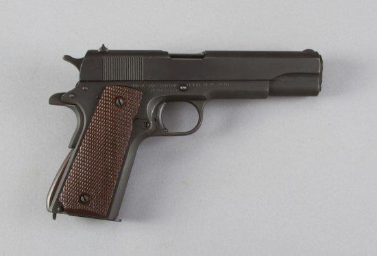 "Union Switch & Signal, Model P11A1, Semi-Automatic Pistol, .45 ACP Caliber, SN 1065339, 5"" barrel, w"