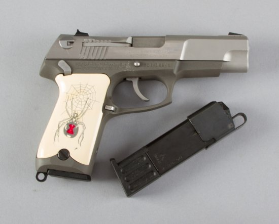 "Boxed Ruger, Model P89DAO, Double Action Semi-Automatic Pistol, 9 MM Caliber, SN 304-16948, 4 1/2"" b"