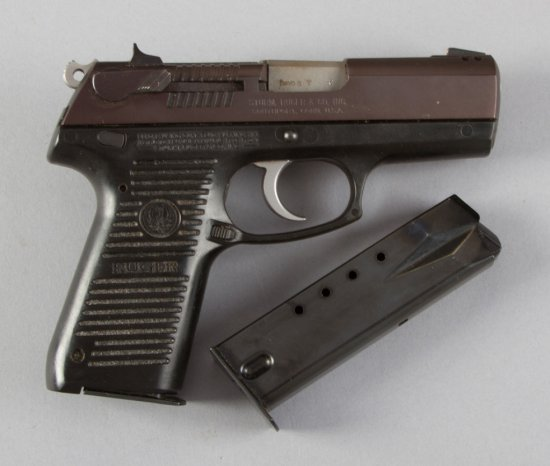 "Boxed Ruger, Model P95DC, Double Action Semi-Automatic Pistol, 9 MM Caliber, SN 311-35091, 4"" barrel"