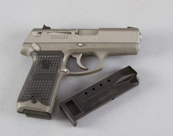 "Boxed Ruger, Model P93DAO, Double Action Semi-Automatic Pistol, 9 MM Caliber, SN 306-147744, 4"" barr"