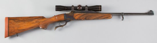 "Ruger, No.1, Single Shot, Rolling Block Rifle, .270 WIN Caliber, SN 131-15733, 22"" barrel, blue fini"