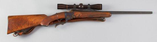 "Ruger, No.1, Single Shot, Rolling Block Rifle, .5x57 Caliber, SN 130-06545, 22"" barrel, matte finish"