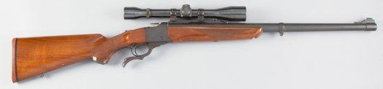"Ruger, No.1, Single Shot, Rolling Block Rifle, 10.75x68 Caliber, SN 132-03348, 24"" barrel, matte fin"