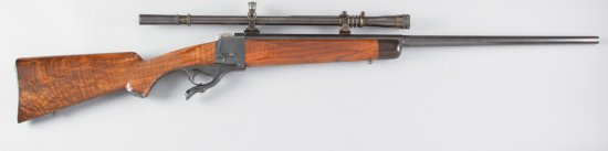 "Extremely fine Target Rifle, Farquhaison, Falling Block Rifle, .225 WIN Caliber, SN 13062, 28"" half"