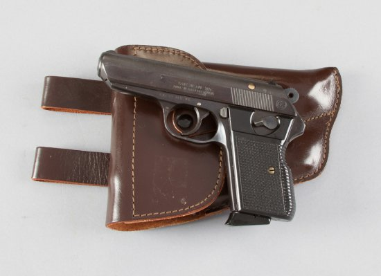 "CZ, Model VZ0R70, Semi-Automatic Pistol, 7.65 MM (.32 ACP) Caliber, SN 683620, 3 3/4"" barrel blue fi"