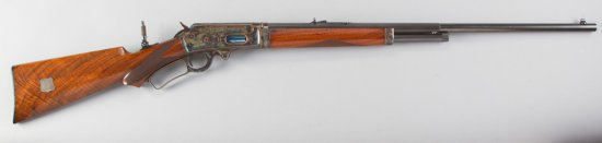 Fine Marlin, Model 1893, Take Down Deluxe, Lever Action, .30-30 Caliber with seven special features,