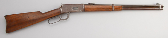 """Winchester, Model 1894, Saddle Ring Carbine, .30 WCF caliber, SN 646727, 20"""" round barrel, with moun"""