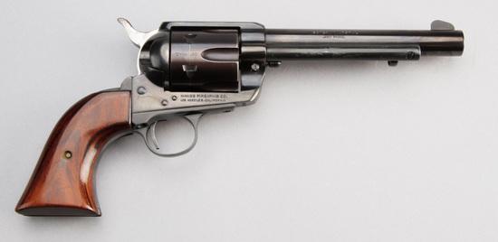 "J.P. Sauer & Sohn Single Action Revolver, .357 MAG caliber, SN 2045343, 6"" barrel, blue finish, two"
