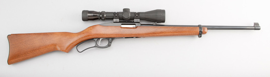 "Very clean Ruger, Model 96, Lever Action Rifle, .22 WIN. MAG Rimfire caliber, SN 620-52602, 18"" barr"