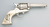 Colt Single Action Army Revolver, .45 caliber, SN 162110, shows heavy buffing, and renickled finish, Image 3