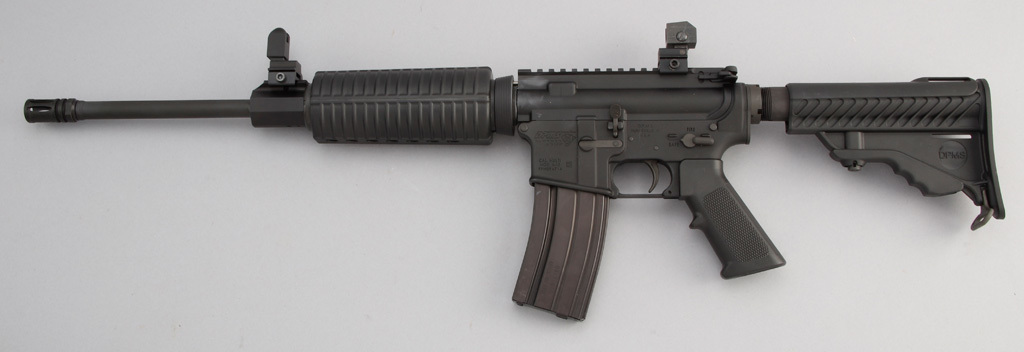 Original boxed DPMS Panther Arms, Model A-15, Semi-Automatic Rifle, 5.56 MM caliber, SN FFHO94714, 1