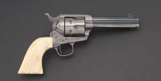 First Generation, Colt SAA Revolver, SN 339060, .32-20 caliber, showing much original finish and gre
