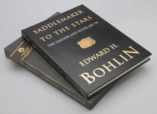 "Scarce Gold Shield Book, titled ""Saddlemaker To The Stars, The Leather And Silver Art Of Edward H. B"