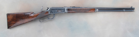 Deluxe, Factory Engraved Winchester, Model 1894, Short Rifle Lightweight Takedown in .30 WCF caliber