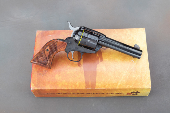 New in Box, Ruger Vaquero, The John Wayne Centennial, Single Action Revolver, .45 caliber, SN JW-030