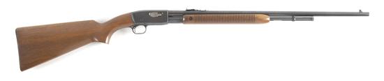 "Remington, Model 121, Slide Action Rifle, .22 caliber, SN 138920, 24"" barrel, walnut stock.  LEO BRA"