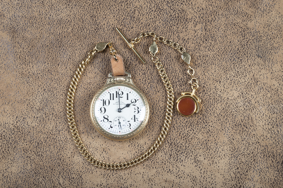 """Antique Hamilton, open face Pocket Watch, dial is marked """"Hamilton Railway Special"""", movement is mar"""