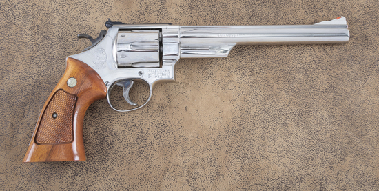 """Fine Smith & Wesson, Model 29-2, Double Action Revolver, .44 MAG caliber, SN N402942, 8 1/4"""" barrel,"""