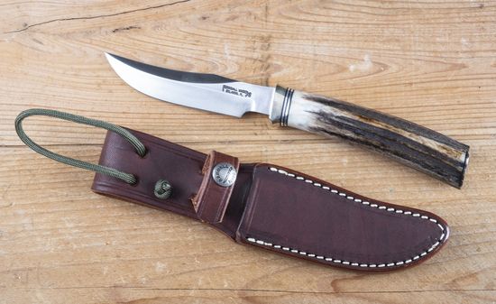 Randall made Side Knife in original Randall made leather sheath in like new condition.  Blade measur