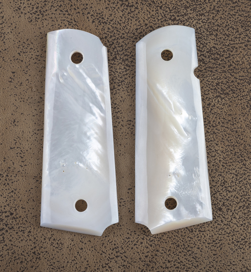 Nice pair of mother of pearl Grips for a Colt 1911