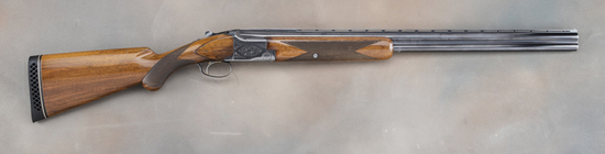 "Belgium Browning, Grade 1 Super Posed, 12 gauge Shotgun, SN 8495358, 28"" ribbed barrel, blue finish"