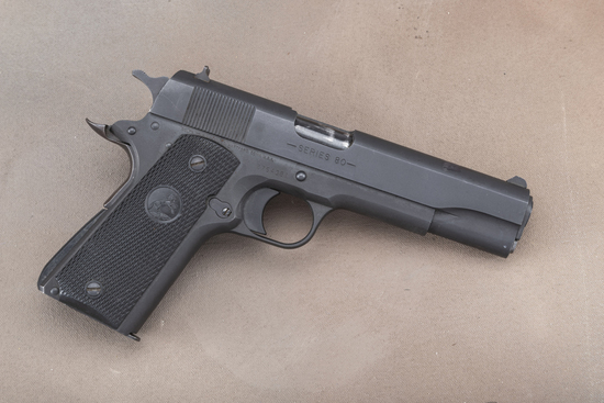 "Colt, Model 1991 A1, .45 ACP caliber Auto Pistol, SN 2754381, 5"" barrel, matte finish, checkered rub"