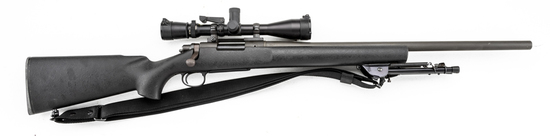 "Remington, Model 700, Bolt Action Rifle, .223 caliber, SN C6630315, 24"" heavy barrel, matte finish,"