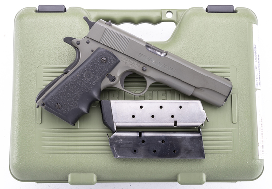 "Springfield Armory, Model 1911 A1, .45 ACP Auto Pistol, SN WW89694, 5"" barrel, factory O.D. finish,"