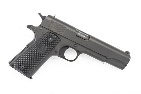 "Colt, Model 1991 A1, .45 ACP caliber Auto Pistol, SN 2703426, 5"" barrel, matte finish, checkered rub"