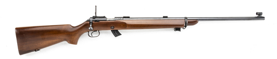 "High condition Winchester, Model 52-B, Bolt Action Rifle, .22 LR caliber, SN 55019B, 28"" round barre"