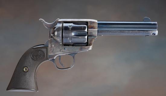 Very high condition, antique Colt, SAA Revolver, .45 Colt.  This is a beautiful Colt, confirmed by t
