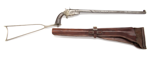 Antique, Frank Wesson Pocket Rifle, SN 110, circa 1870-1890.  Known as the Sportsman's Jewel, this i