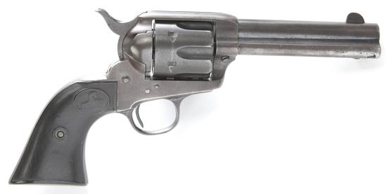 "Colt, SAA Revolver, .41 COLT caliber, SN 255088, manufactured 1904, 4 3/4"" barrel.  The serial numbe"