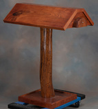 Custom, solid Mesquite Saddle Stand, 40