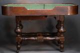 Rare antique, one dealer Crap Table, circa 1880s. These smaller tables were